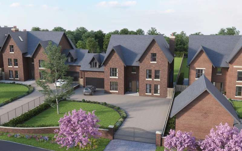 6 Bedrooms Detached House for sale in Plot 3 Cotebrook, Oughtrington Lane, Lymm