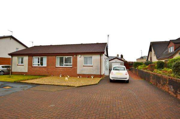2 Bedrooms Semi Detached Bungalow for sale in 53 Caledonia Crescent, Ardrossan, KA22 8LW