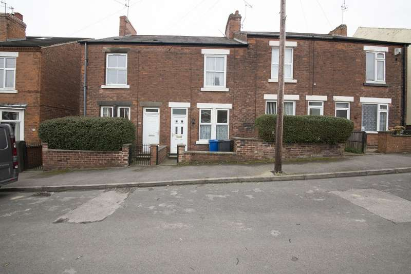 3 Bedrooms Terraced House for sale in Central Street, Chesterfield S41
