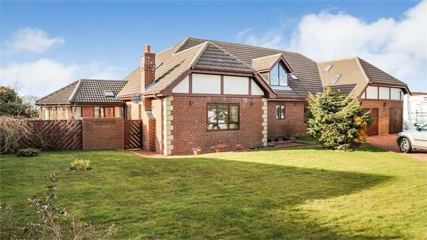 6 Bedrooms Detached House for sale in Front Street, Burnhope, Durham