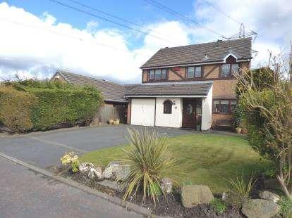 4 Bedrooms Detached House for sale in Turner Avenue, Lostock Hall, Preston, Lancashire, PR5