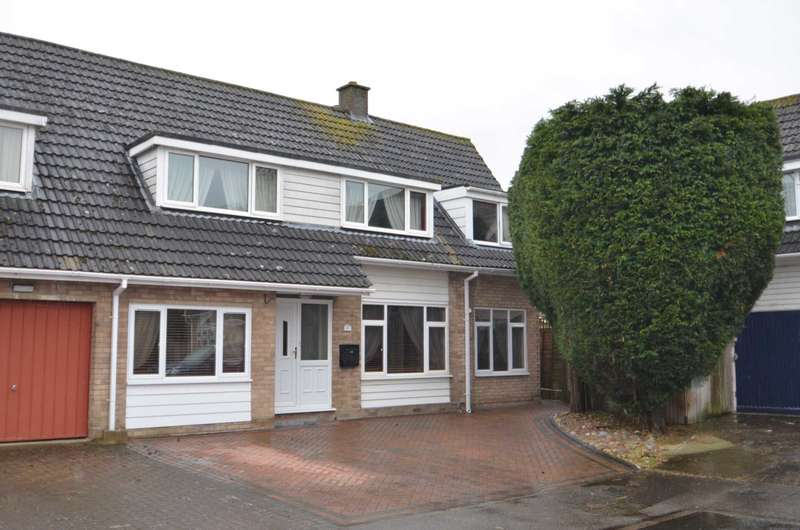 4 Bedrooms Semi Detached House for sale in Highfield Close, Newport Pagnell