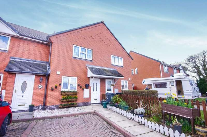 2 Bedrooms Terraced House for sale in Llys Dewi, Penyffordd