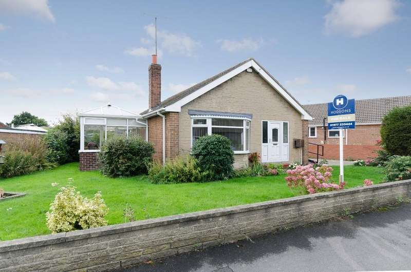 2 Bedrooms Detached Bungalow for sale in Orchard Drive, Ackworth