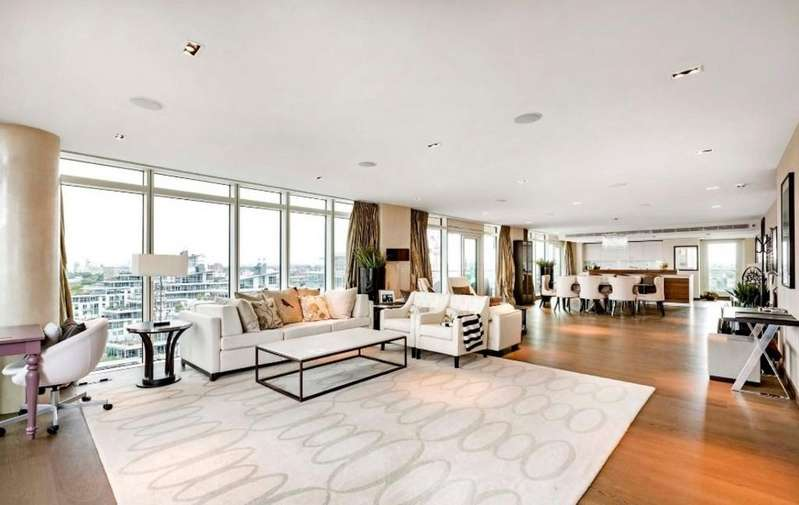 3 Bedrooms Apartment Flat for sale in Ascensis Tower, Battersea Reach, Juniper Drive