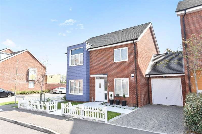 4 Bedrooms Detached House for sale in Hargreaves Close, Basingstoke, RG24