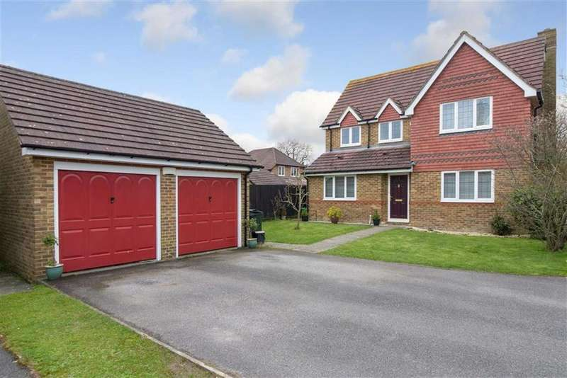 4 Bedrooms Detached House for sale in Shipley Mill Close, Kingsnorth, Ashford