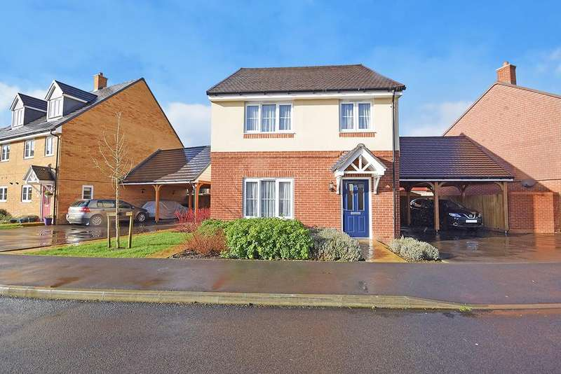 4 Bedrooms Detached House for sale in Hadleigh Street, Kingsnorth, Ashford