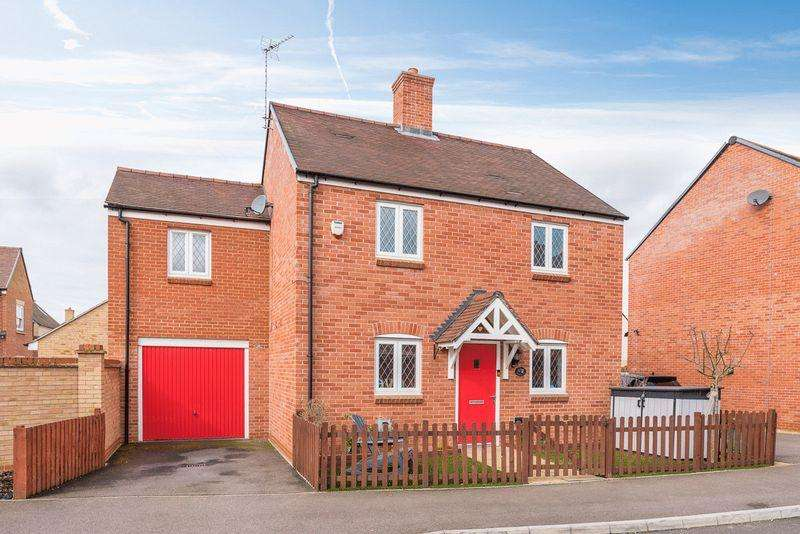 4 Bedrooms Detached House for sale in Falldor Way, Ampthill