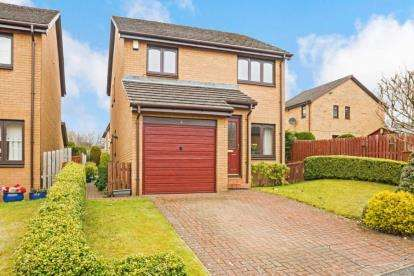 3 Bedrooms Detached House for sale in Mainhill Drive, Baillieston, Glasgow, Lanarkshire
