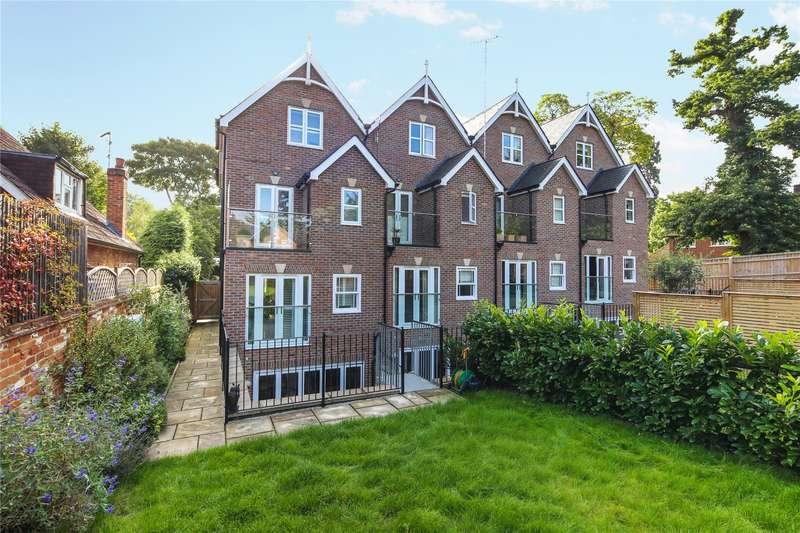 4 Bedrooms End Of Terrace House for sale in Pine Grove, Weybridge, Surrey, KT13