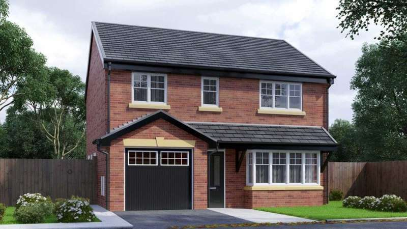 4 Bedrooms Detached House for sale in Hough Fold Way, Harwood