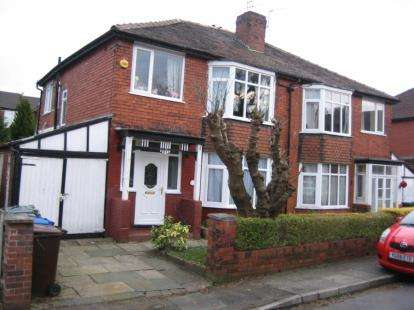 3 Bedrooms Semi Detached House for sale in Stand Avenue, Whitefield, Manchester, Greater Manchester