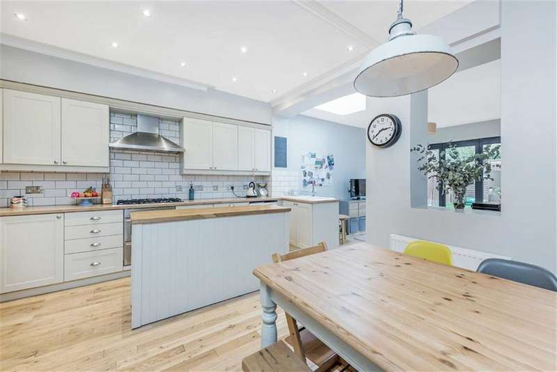 4 Bedrooms House for sale in Penwortham Road, Furzedown, London