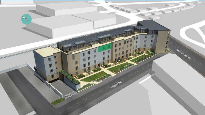 2 Bedrooms Flat for sale in Plot 16, Marionville Road, Meadowbank, Edinburgh