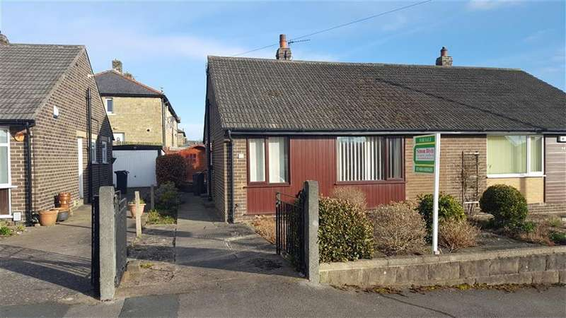 2 Bedrooms Semi Detached Bungalow for sale in Grasscroft Avenue, Honley, Holmfirth, HD9
