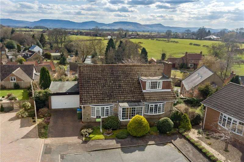 4 Bedrooms Detached Bungalow for sale in Rosehill, Great Ayton, North Yorkshire