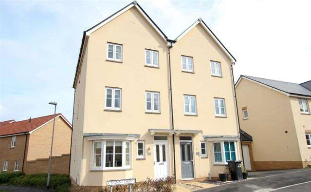 4 Bedrooms Semi Detached House for sale in Channi Drive, Bridgwater
