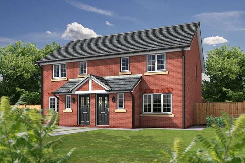 3 Bedrooms Semi Detached House for sale in The Paddocks, Sandy Lane, Higher Bartle, Preston, PR4