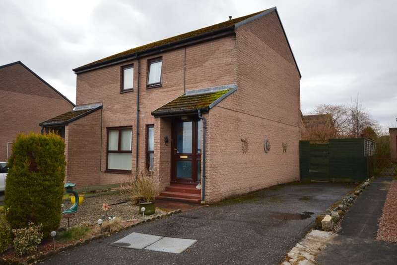 2 Bedrooms Semi Detached House for sale in Lomond Way, INVERNESS, IV3