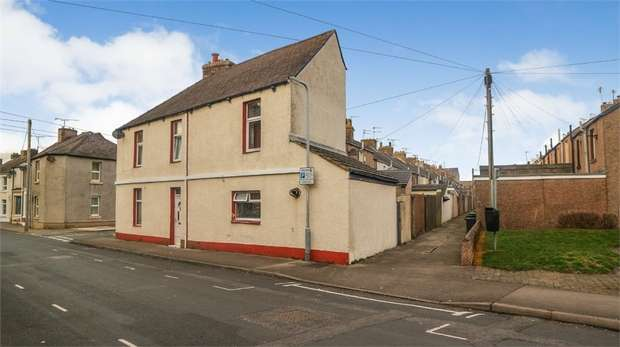 3 Bedrooms End Of Terrace House for sale in Gladstone Street, Workington, Cumbria