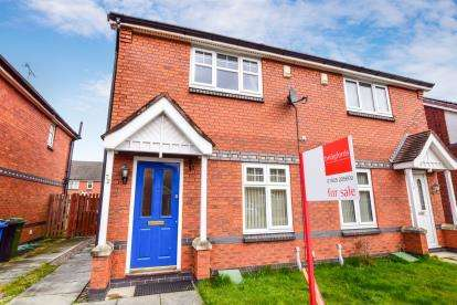 2 Bedrooms Semi Detached House for sale in Helmsley Close, Bewsey, Warrington, Cheshire