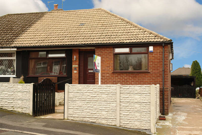 3 Bedrooms Semi Detached Bungalow for sale in Marlborough Road, Royton, Oldham