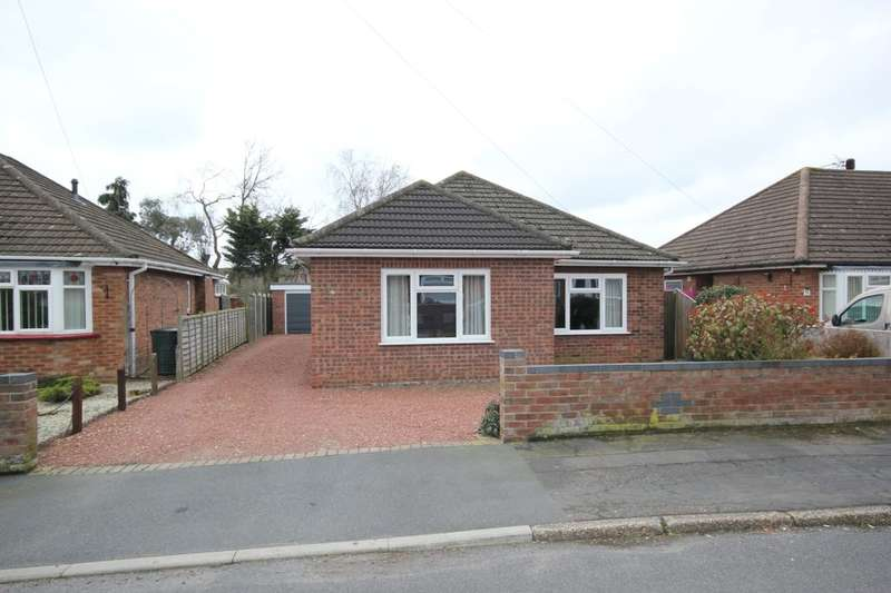 2 Bedrooms Detached Bungalow for sale in Linton Crescent, Sprowston, Norwich, NR7