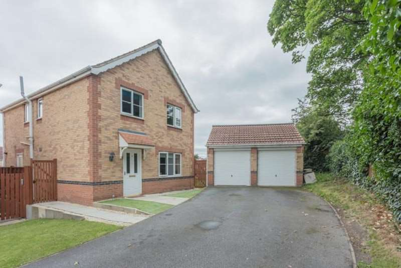 4 Bedrooms Detached House for sale in Annie Senior Gardens, Rotherham, South Yorkshire, S63