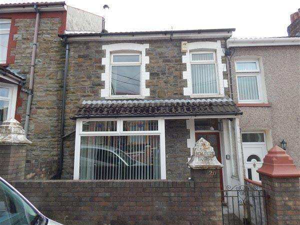3 Bedrooms Terraced House for sale in Cwm Cottage Road, Six Bells, NP13 1AT