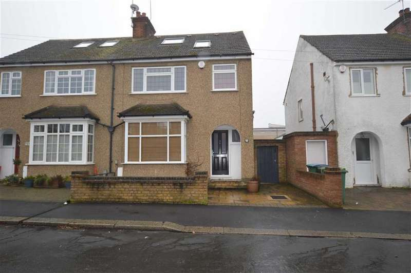 4 Bedrooms Semi Detached House for sale in King Georges Avenue, Watford, Herts, WD18