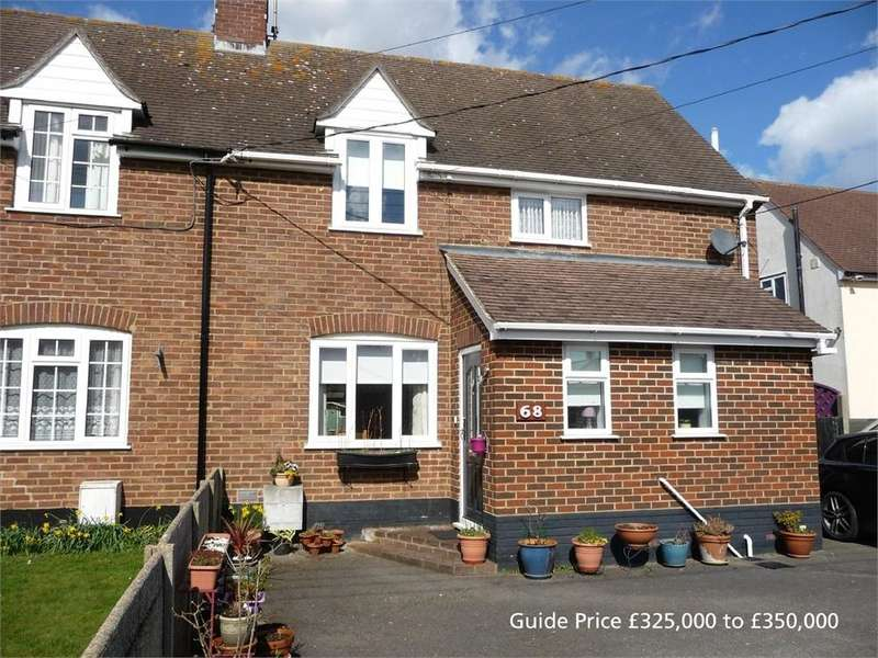 3 Bedrooms Semi Detached House for sale in Oak Road, Tiptree, Essex