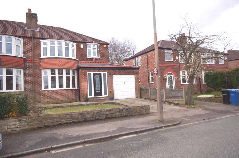 3 Bedrooms Semi Detached House for sale in Eastleigh Road, Heald Green, Cheadle, Cheshire SK8