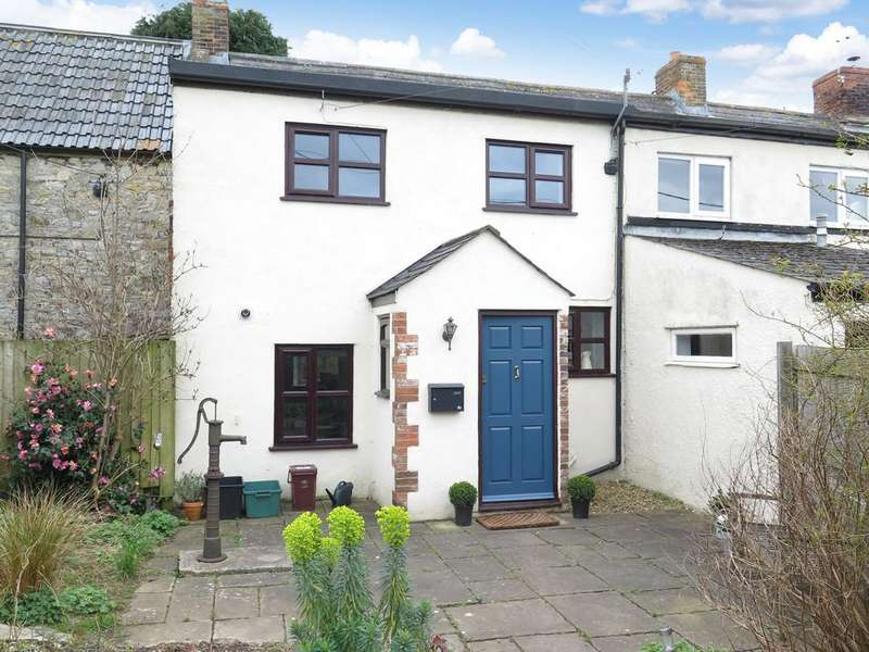 2 Bedrooms Terraced House for sale in Coxley