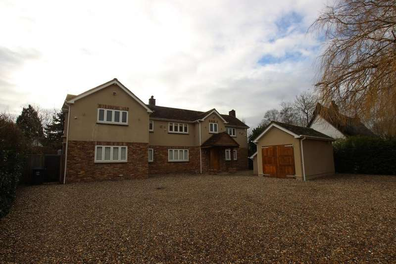 5 Bedrooms Detached House for sale in Wood End, Ardeley, SG2