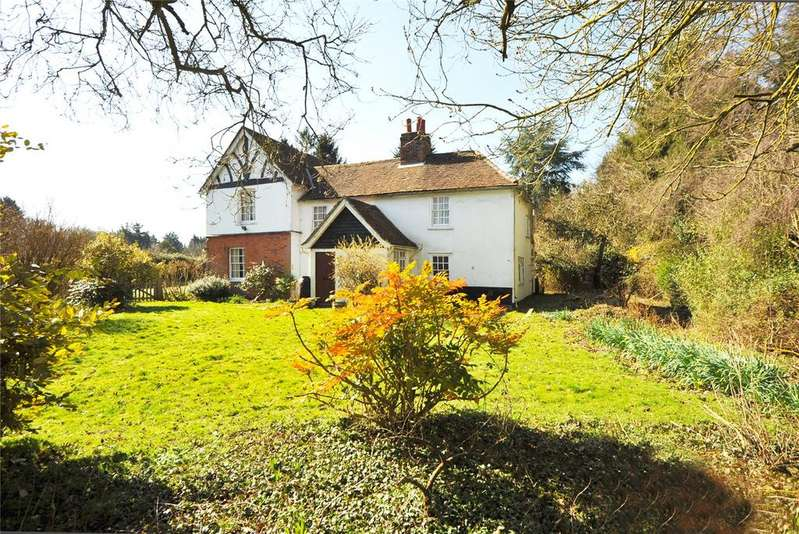 4 Bedrooms Detached House for sale in Mill Green Road, Mill Green, Ingatestone, Essex, CM4