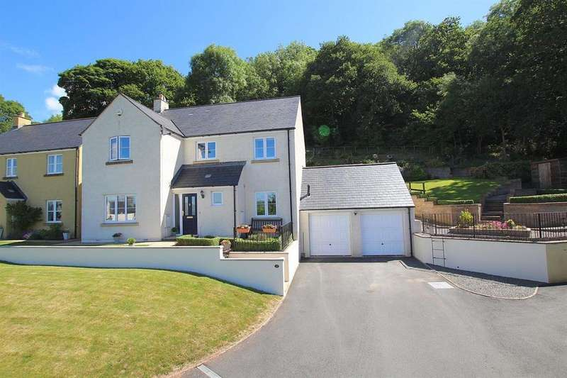 4 Bedrooms Detached House for sale in Eluneds Drive, Brecon
