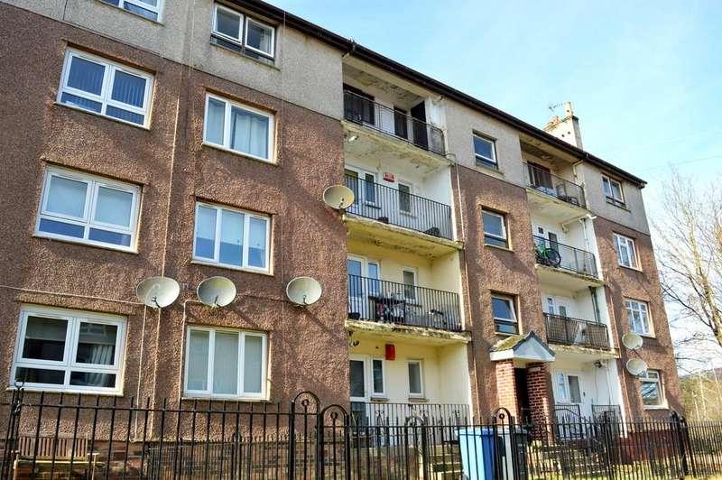 2 Bedrooms Flat for sale in Waulkingmill Road, Faifley, Clydebank G81 5AJ