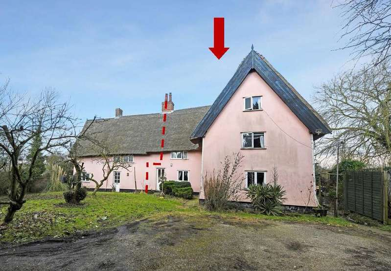 4 Bedrooms Semi Detached House for sale in Brockford, Nr Stowmarket, Suffolk
