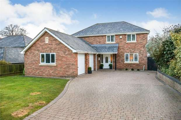 5 Bedrooms Detached House for sale in Nesscliffe, Shrewsbury, Shropshire
