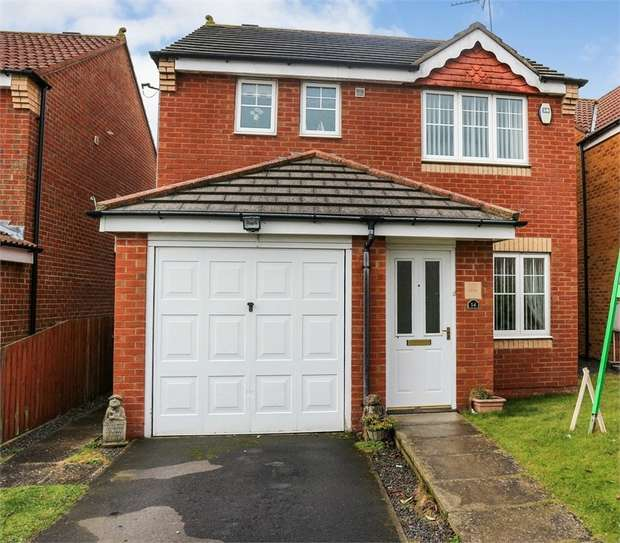 3 Bedrooms Detached House for sale in Redwood Court, Ashington, Northumberland