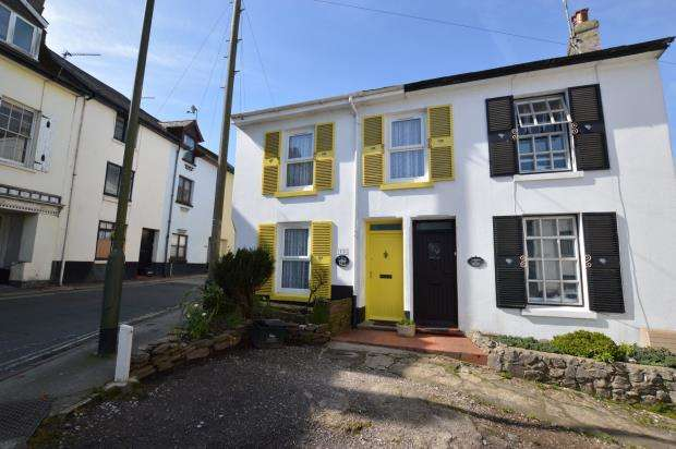 3 Bedrooms End Of Terrace House for sale in St Marys Square, Brixham, Devon