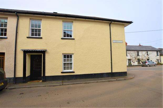 3 Bedrooms End Of Terrace House for sale in West Street, Witheridge, Tiverton, Devon