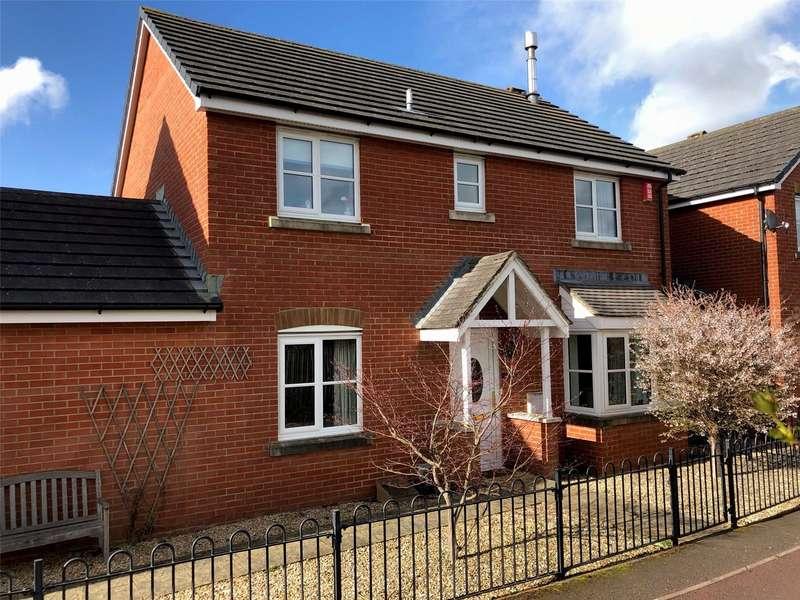 4 Bedrooms House for sale in Adams Meadow, Ilminster, Somerset, TA19