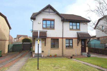 2 Bedrooms Semi Detached House for sale in Dunglass Place, Newton Mearns