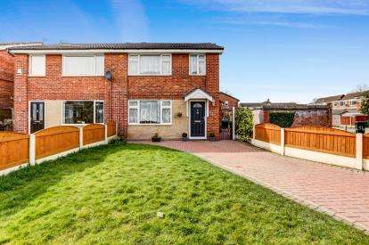3 Bedrooms Semi Detached House for sale in Minsmere Walks, Bean Leach, Offerton, Stockport