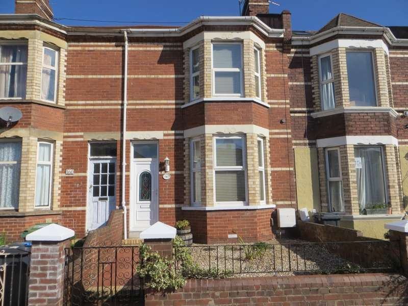 3 Bedrooms Terraced House for sale in Pinhoe Road, Exeter