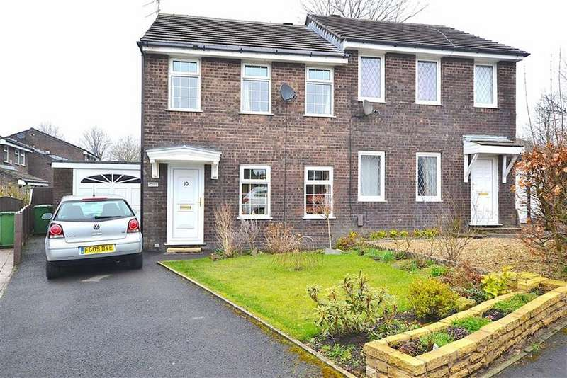 3 Bedrooms Semi Detached House for sale in Inchfield, Worsthorne, Lancashire