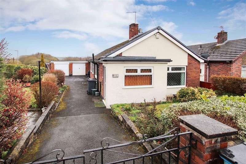 3 Bedrooms Detached Bungalow for sale in Woodlands Avenue, Talke, Stoke-On-Trent
