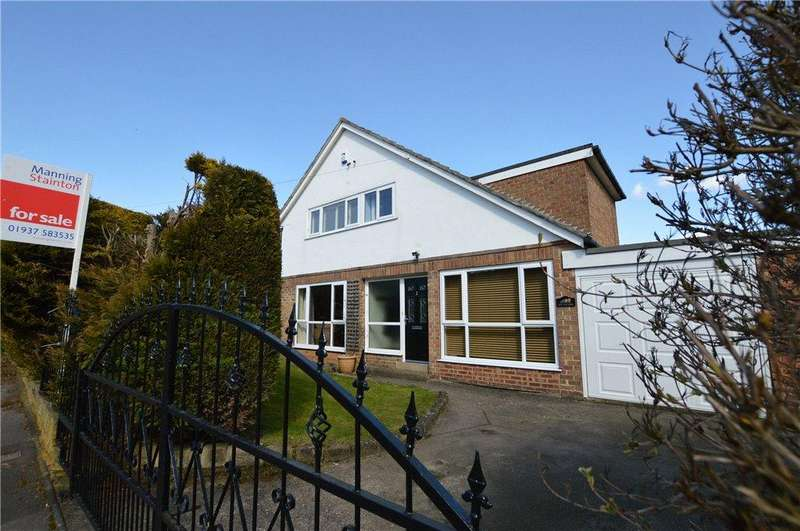 4 Bedrooms Detached House for sale in Heath Drive, Boston Spa, Wetherby, West Yorkshire